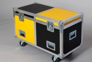 Aufbewahrungscase (schwarz/gelb)