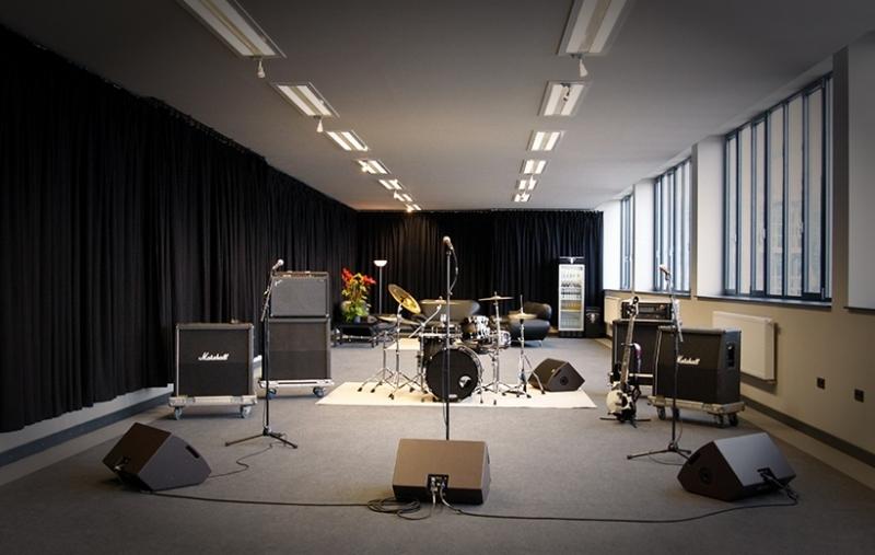 Rehearsal Halls Black Box Music Bbm